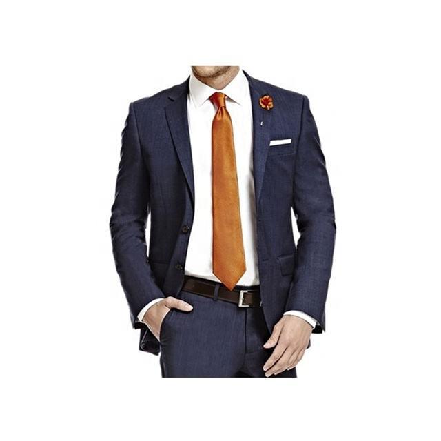 Marinha Homens Azuis Terno Formal Terno Casaco Para Homens Com Bolso No Peito Dos Homens Terno Novo Design