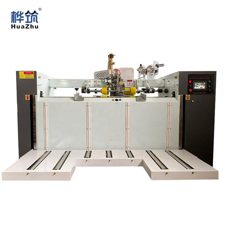 Cardboard paperboard carton box Packaging Stitching Machine Stapler Carton Box Stitcher