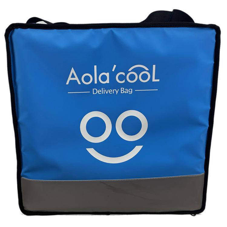 Polyester malzeme ve gıda kullanımı yalıtımlı sırt çantası gıda teslimat çantası