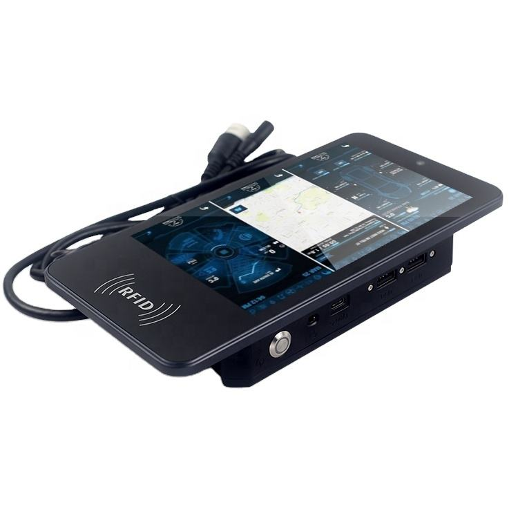 Tahan Jatuh POE Tablet Dinding Mount <span class=keywords><strong>Android</strong></span> OBDII RS232 RJ45 Zigbee Mobil Tablet PC OBD Kendaraan NFC 13.56Mhz Kendaraan Tablet <span class=keywords><strong>ethernet</strong></span>
