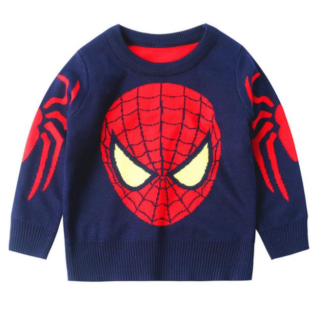 Лидер продаж; новый дизайн; Толстый Пуловер с длинными рукавами для мальчиков; вязаный свитер