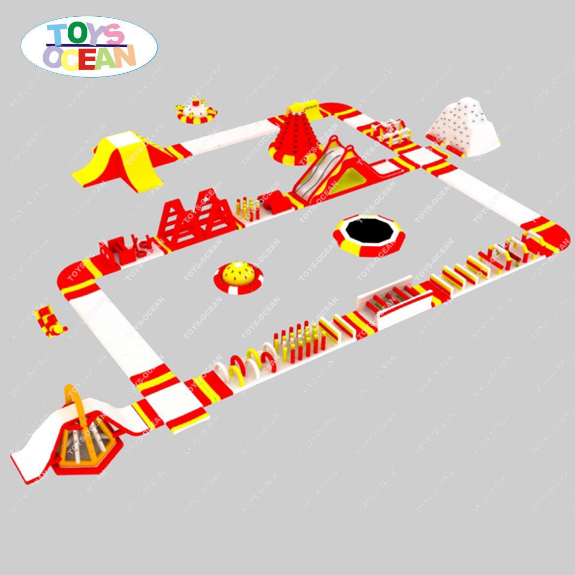 Ngoài Trời Thiết Bị Vui Chơi Inflatable Bán Công Viên Nước Inflatable Nổi