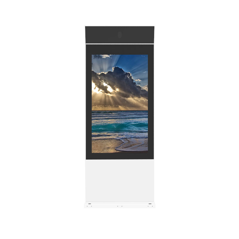 outdoor advertising lcd display digital signage screen totem IP65 monitor
