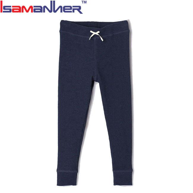 Оптовая продажа; Классические мягкие повседневные штаны для девочек; однотонные леггинсы