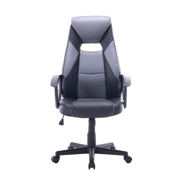 OEM Conforto design moderno escritório cadeira do computador de jogos de corrida de couro balanço