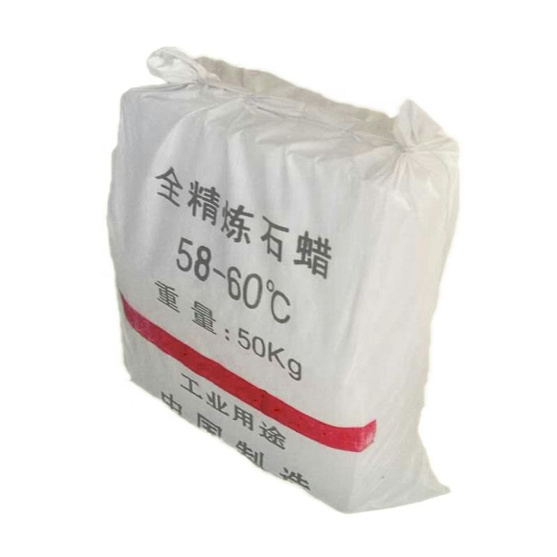 wholesale fully or semi refined white paraffin wax for candle making