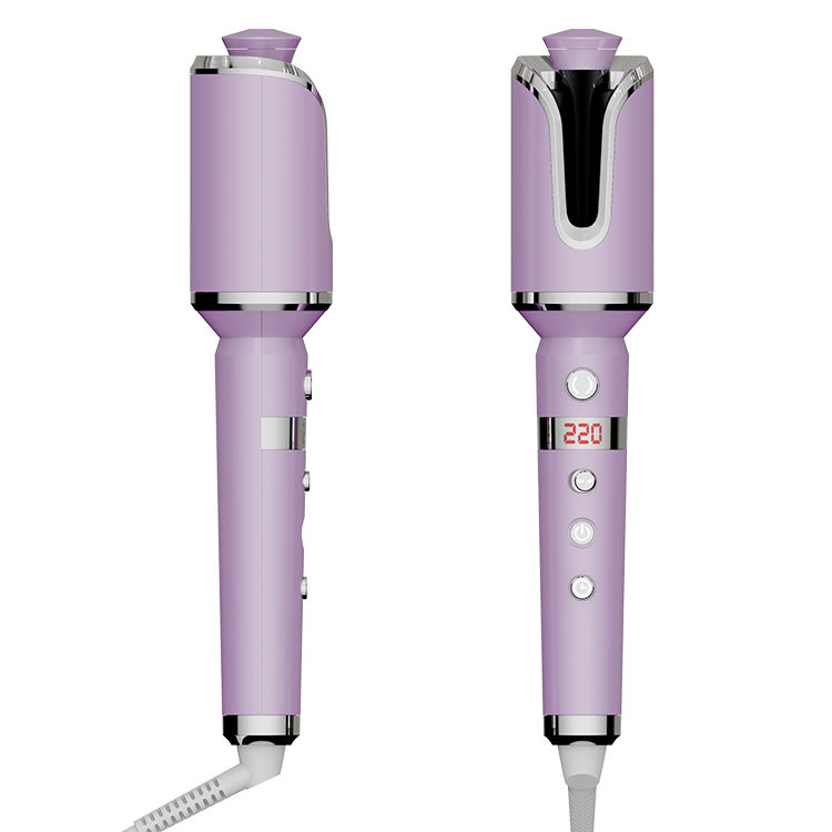 2021 New Machine Pro Curls Coming Rose Air Curler Wand Curl Rotati Hair Ceramic Instawave Automatic Curling Iron/
