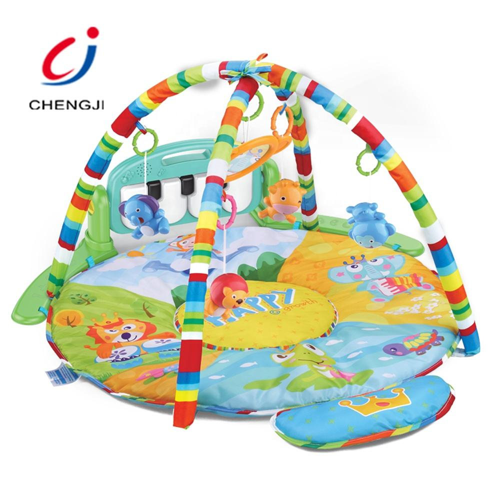 Latest Toys Baby Mat Play, Children Toys Wholesale Music and Light Baby Gym