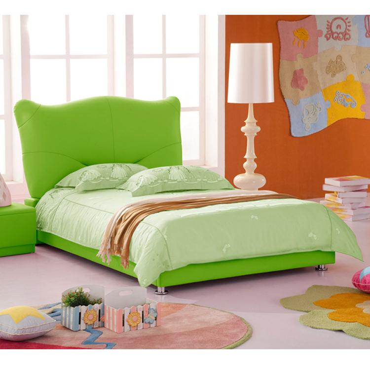 2018 новый дизайн яркий цвет Современная Безопасность Детская кровать мягкая мебель