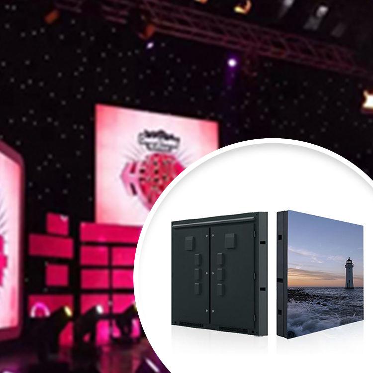 Indoor hd led display P4 luminous video wall 1024x1024mm waterproof wireless control bar secondary panel