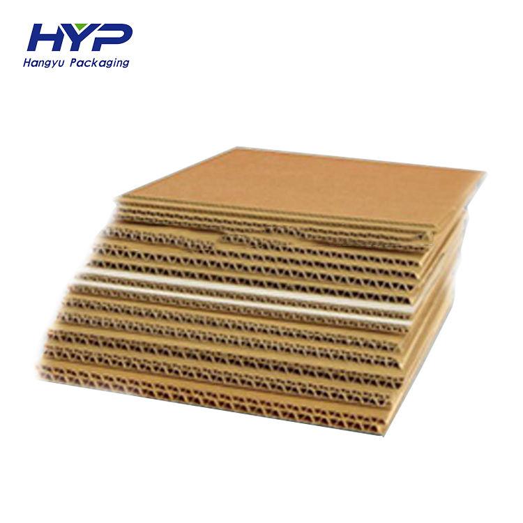 Пользовательские OEM флейта дешевые гофрированные картонные листы