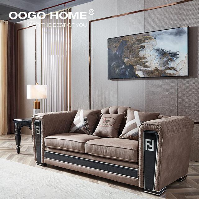 Francese bianco Casa Mobili Soggiorno divano in pelle di una monoposto Divano guang dong elastico di cuoio della copertura