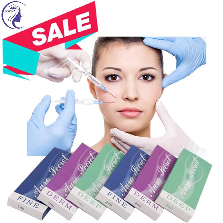 高品質注射架橋されたリップ皮膚充填剤注入ヒアルロン酸