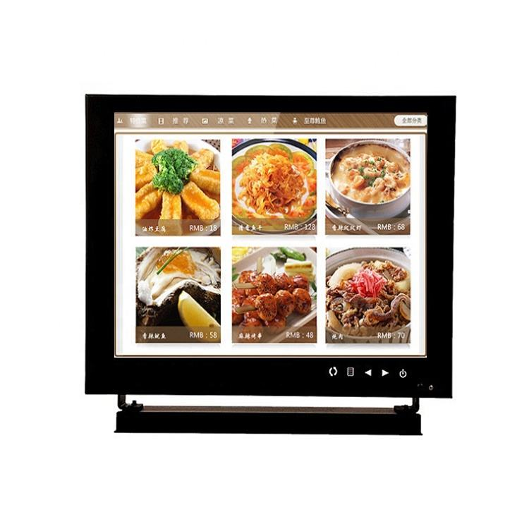 1024x768 resolution 8inch touchscreen cctv lcd monitor for the Restaurant