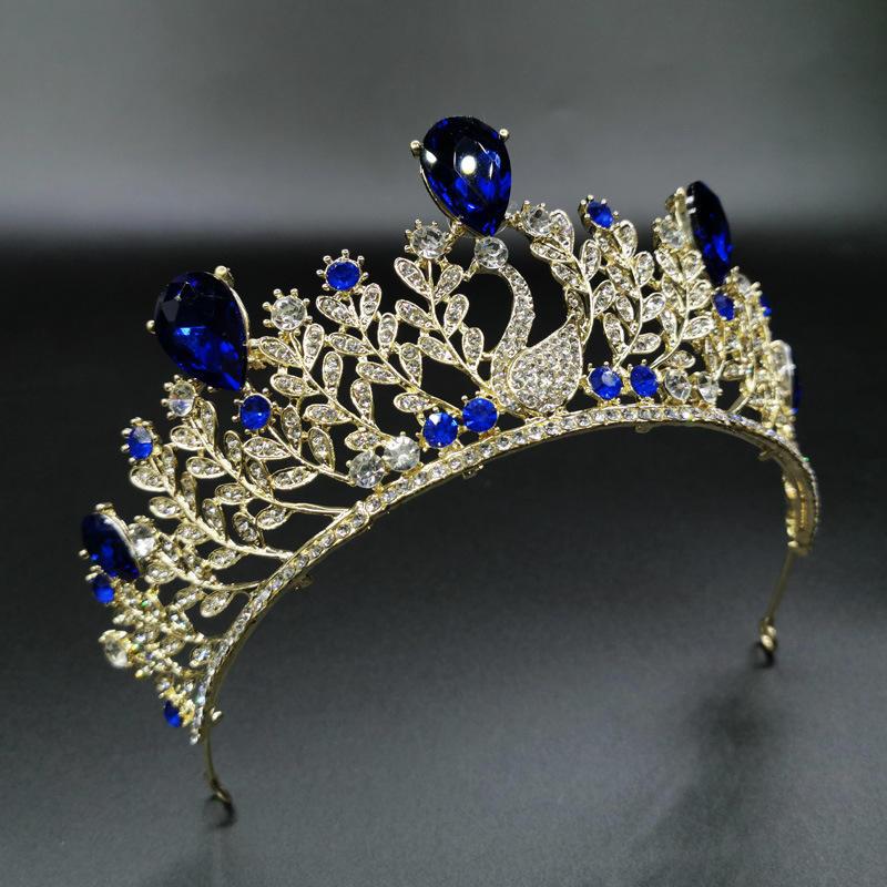 mayor 2020 Nueva Corea del Sur versión accesorios novia de aleación corona tocado estudio mujer corona boda gran cro