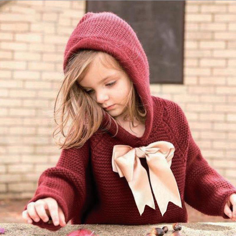Высокое качество дешевые чистый цвет хлопок детские толстые свитера