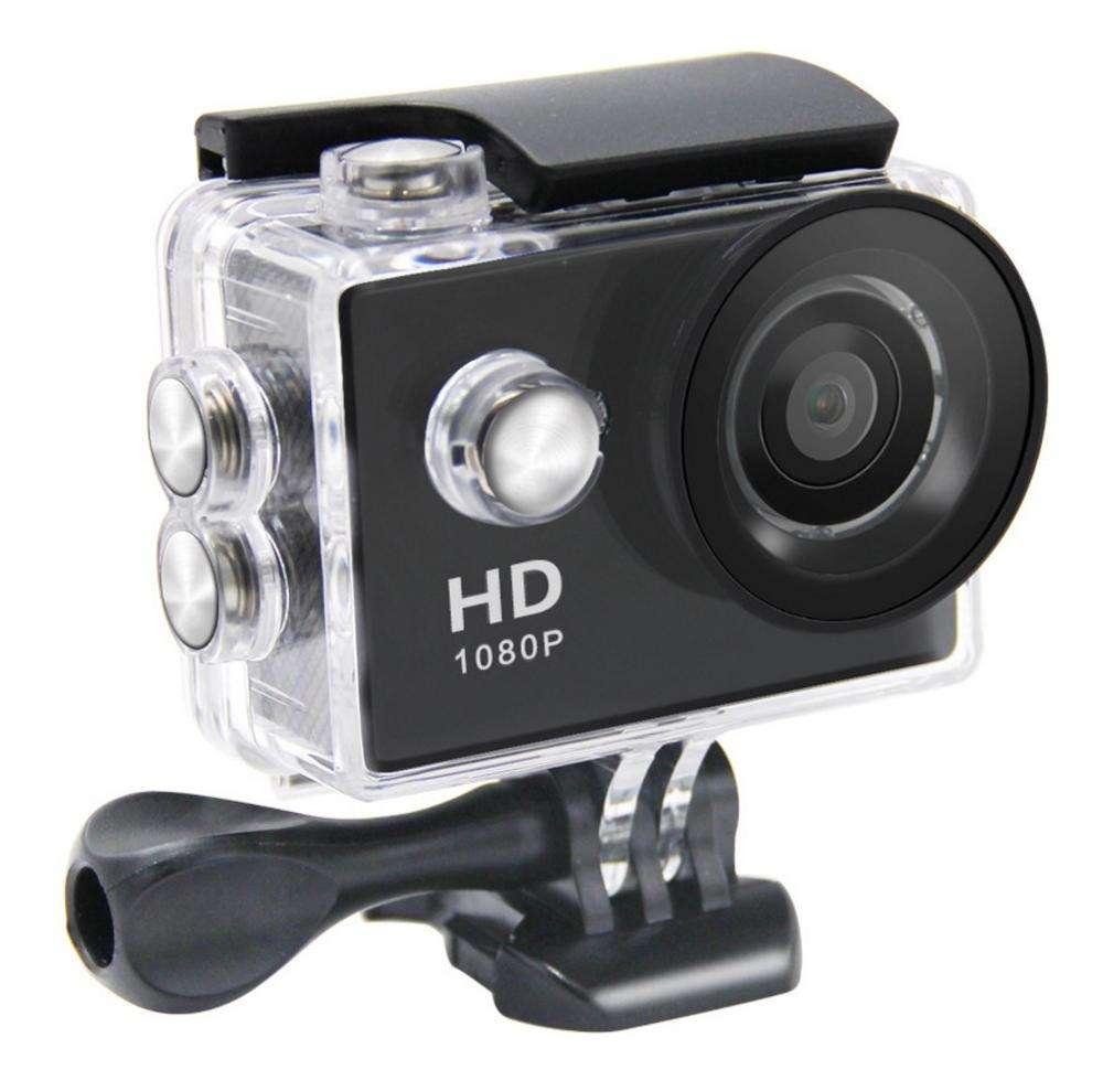 卸売屋外ミニアクションカメラ rohs アクセサリーキット防水 hd720p スポーツカメラ