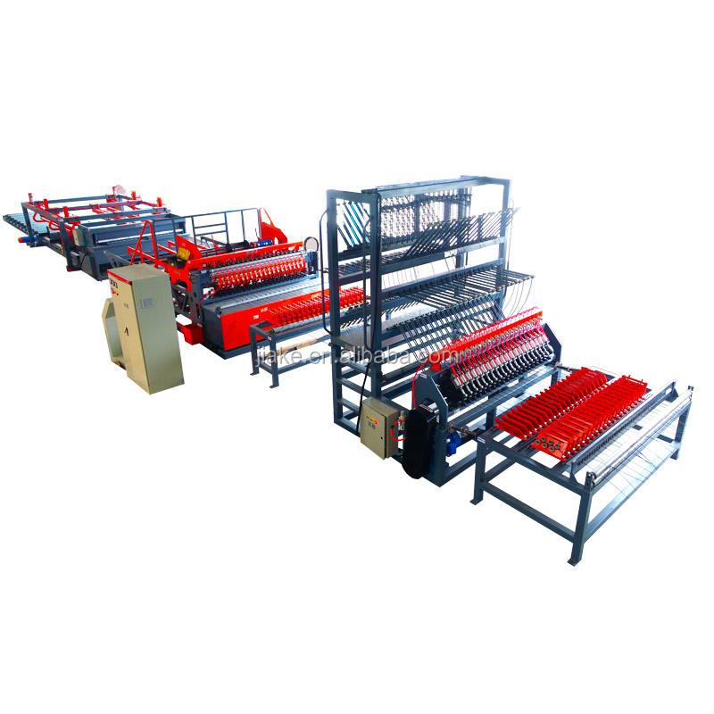 مصنع الصين  أسلاك الفولاذ المضلع آلة لحام شبكة حديد التسليح الملحومة