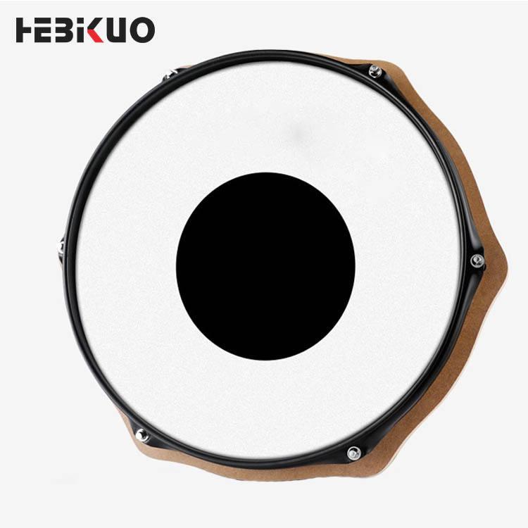 HEBIKUO venta al por mayor de la buena calidad de tonto tambor práctica de tambor de 12 pulgadas