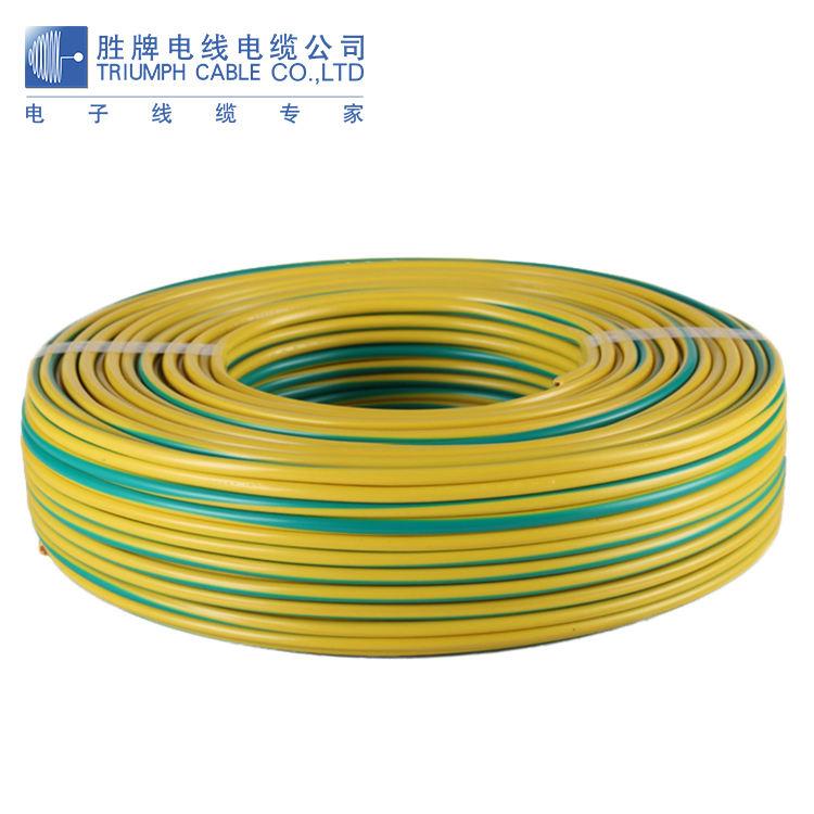 En gros simple noyau de cuivre conducteur PVC isolé fil électrique domestique