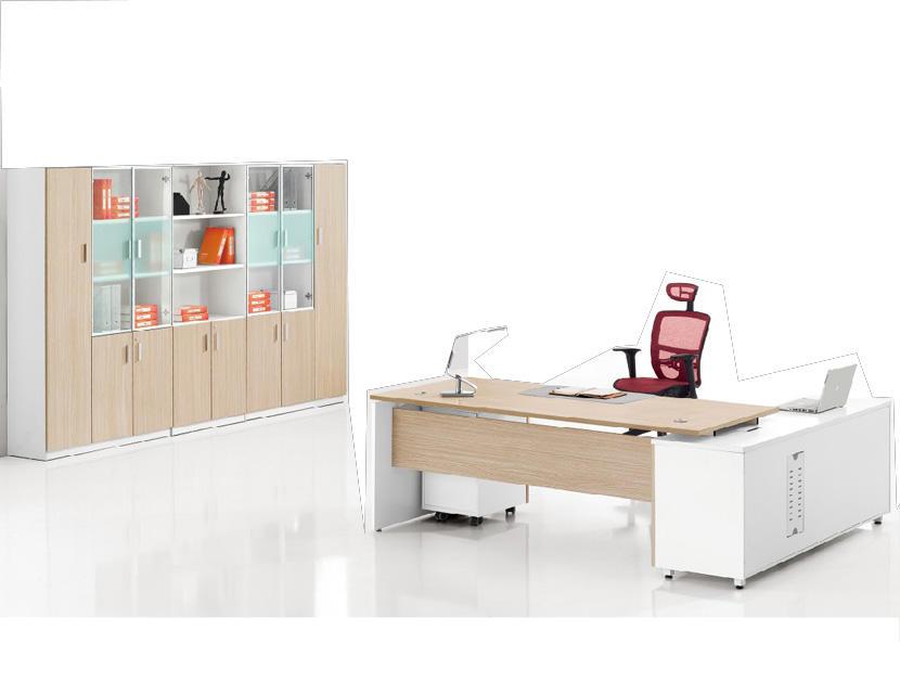 Đơn giản thiết kế tin tức văn phòng điều hành đồ nội thất sáng tạo nhỏ gọn văn phòng bảng với side trở lại
