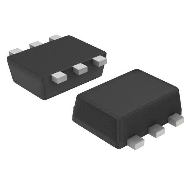 Биполярный (БЮТ) транзистора массив 2 Силовые транзисторы NPN (двойная) 45V BC847C