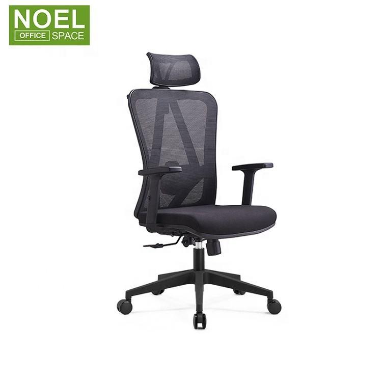Línea de producción completa <span class=keywords><strong>ergonómico</strong></span> <span class=keywords><strong>superior</strong></span> giratoria silla de oficina negro