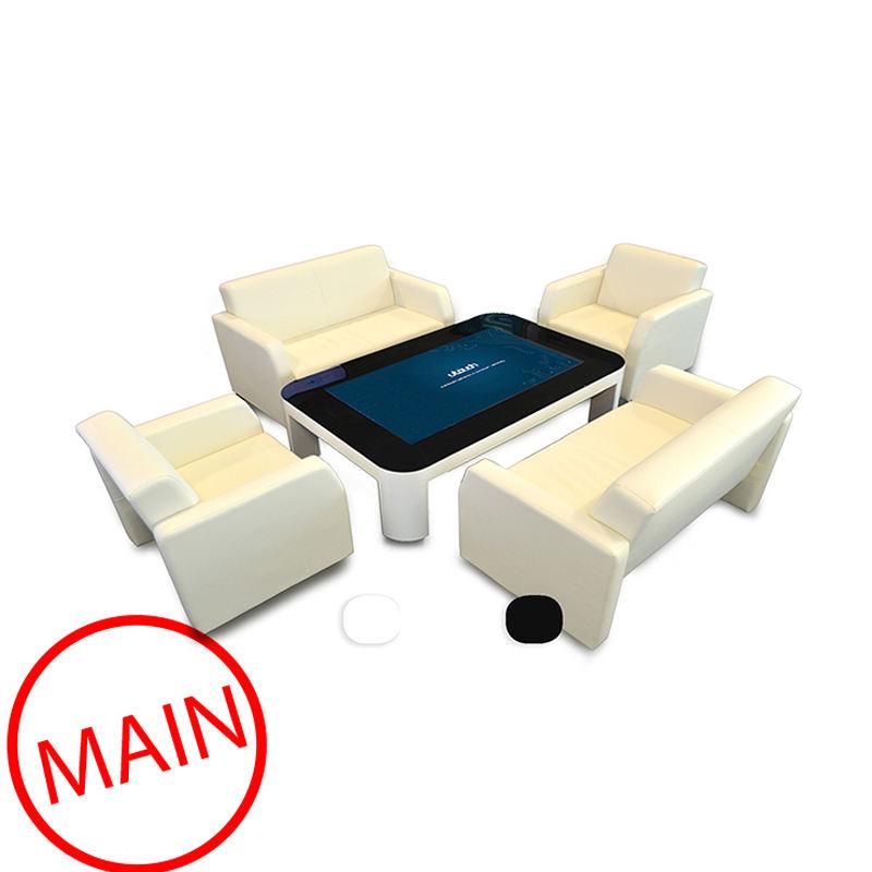 65 pollici A CRISTALLI LIQUIDI di vendita Calda dello schermo di tocco per android tavolino