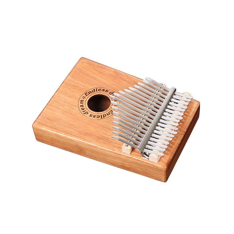 Hot <span class=keywords><strong>venda</strong></span> por atacado instrumentos de <span class=keywords><strong>Percussão</strong></span> GS-7 Acácia kalimba piano de polegar kalimba Mahogany17 chave