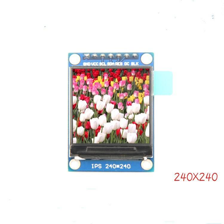 1.3 pouces IPS angle de vision complet ÉCRAN TFT couleur écran LCD écran module SPI port série HD 240x240