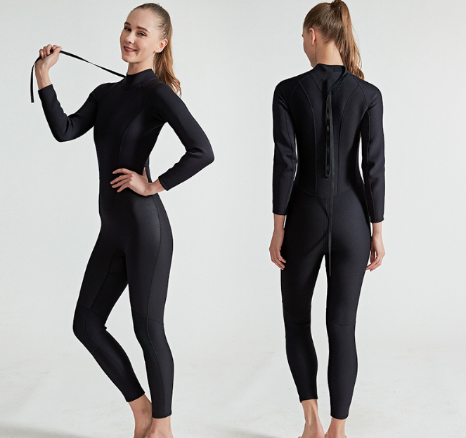 KOMAY Custom high quality 2 mm neoprene wetsuit one-piece full body diving wetsuit super stretch surfing wetsuits