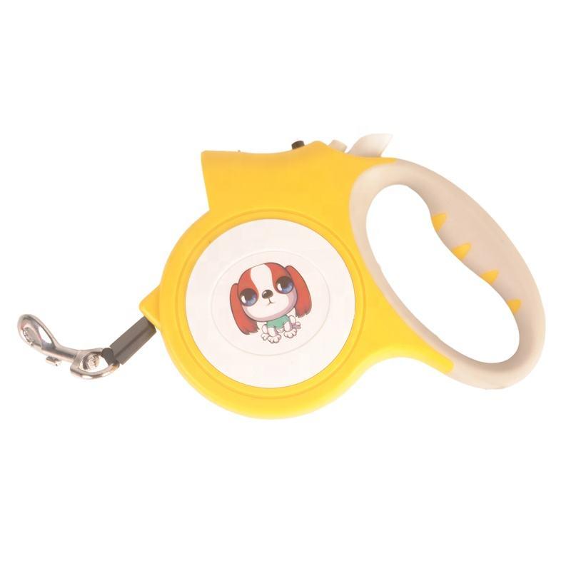 Супер сентябрь Быстрая доставка Лидер продаж высокое качество собака поводок с светодиодный фонарик Выдвижной Поводок