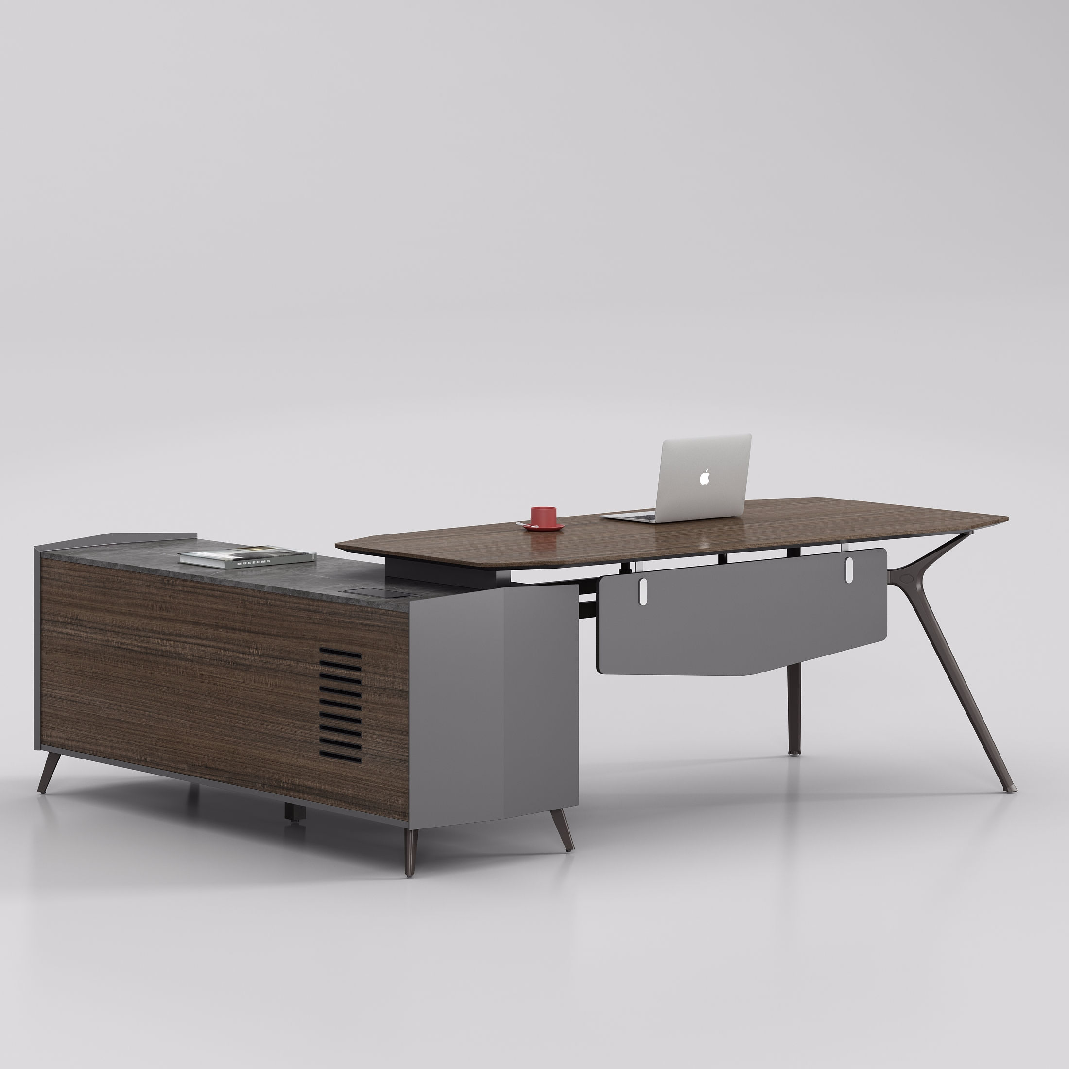 Modern office desk executive office furniture L shaped office table