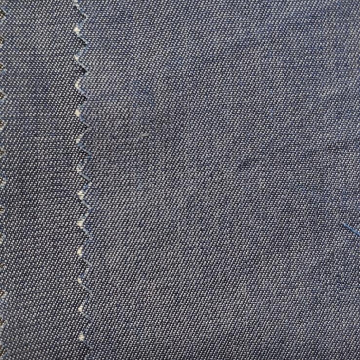 Venta caliente del precio barato de nuevo diseño Chambray 100% Tencel tela para camisas