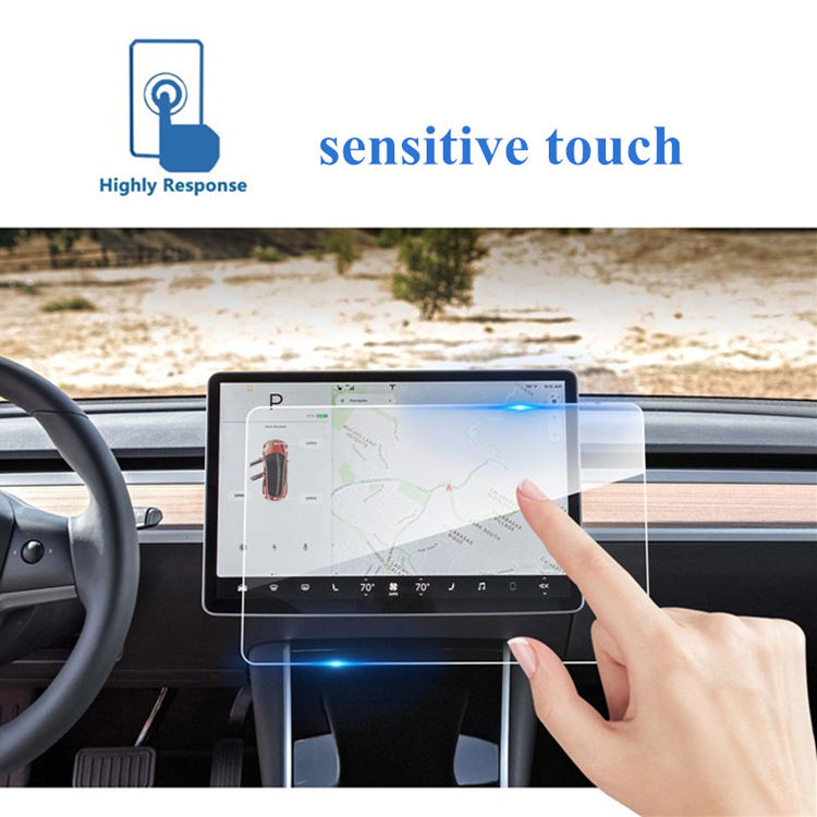 Wholesale 2.5D HD clear Car GPS Navigator 9H tempered glass screen protector for All car