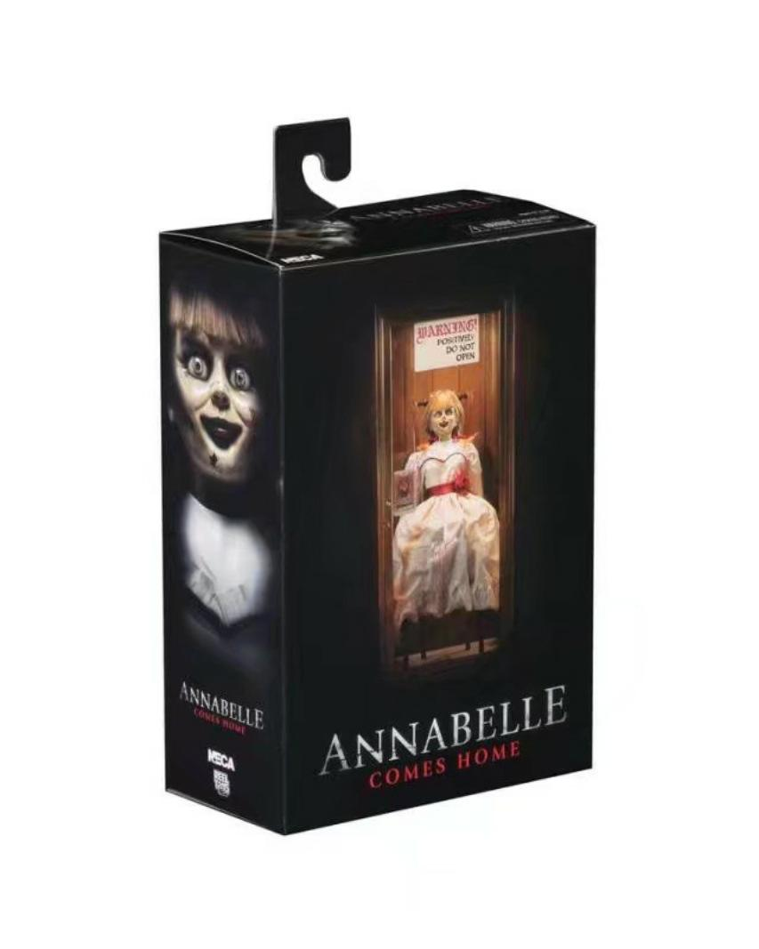 Horror movie character figures Annabelle neca figure toy