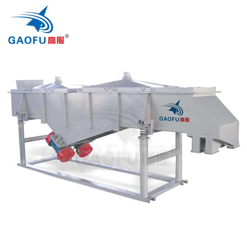 linear powder vibrating sieve machine for charcoal