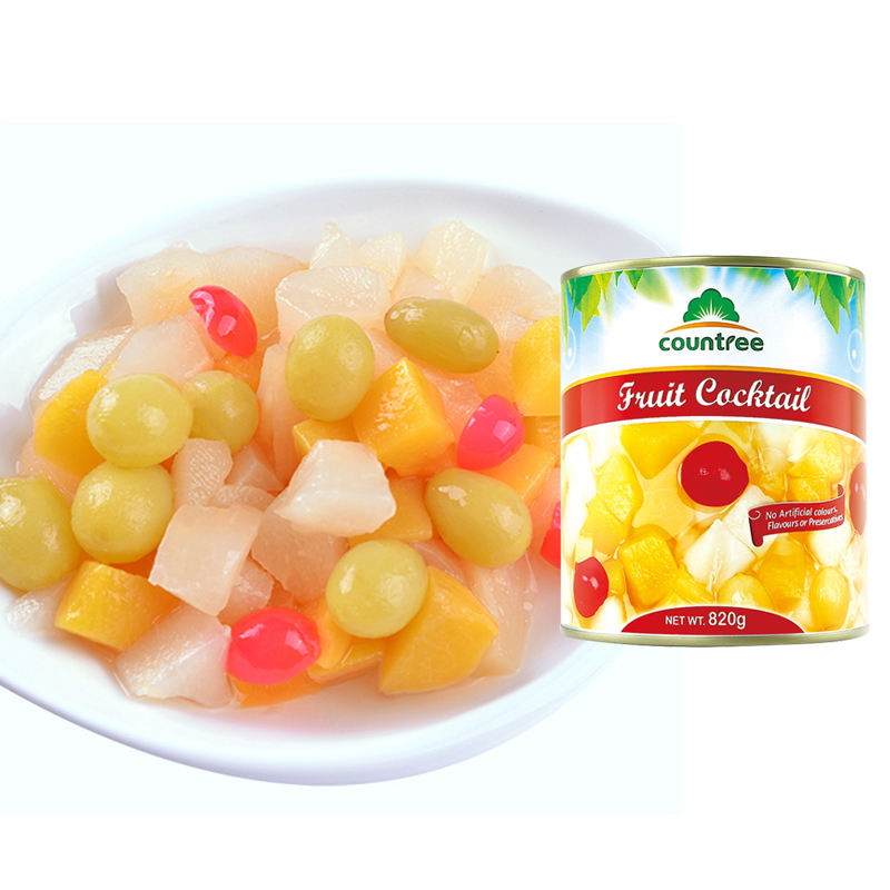 Factory Supply Best Mixed Canned Fruit Cocktail With Competitive Price
