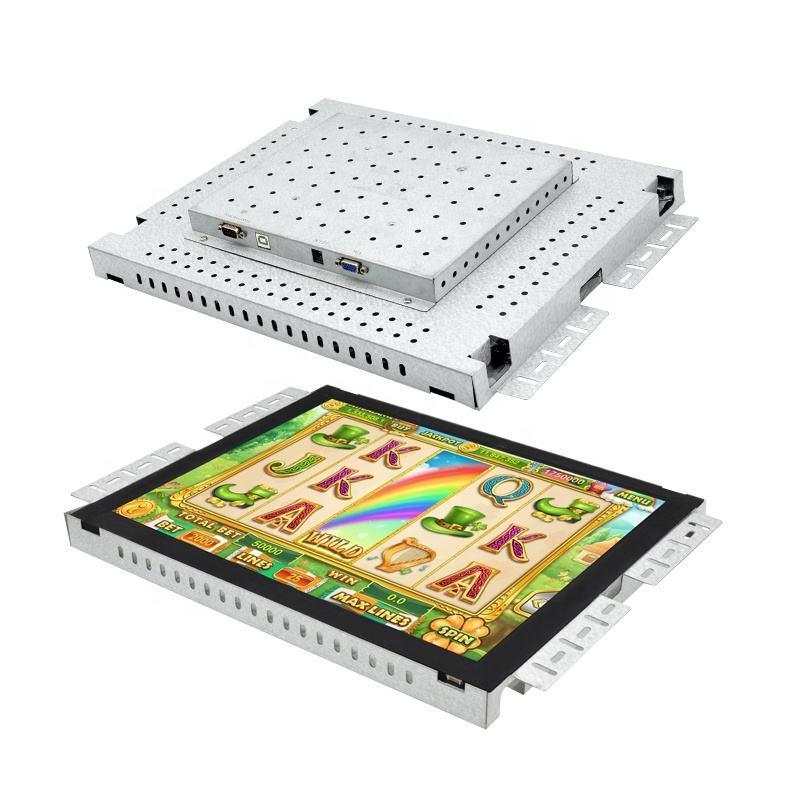 19 inch pot o gold touch screen open frame LCD monitor for <span class=keywords><strong>casino</strong></span> gaming monitor machine