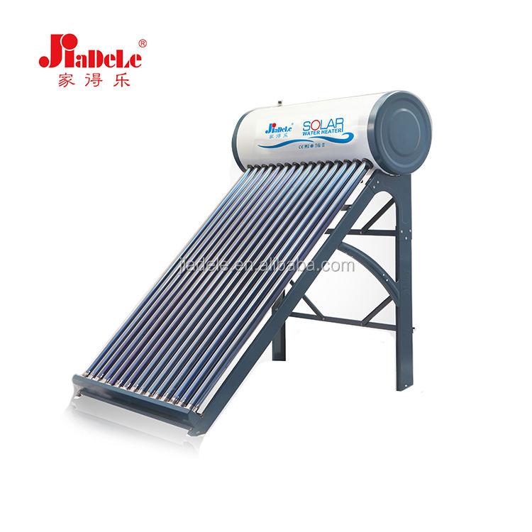 최신 디자인 대피 튜브 태양 물 난방