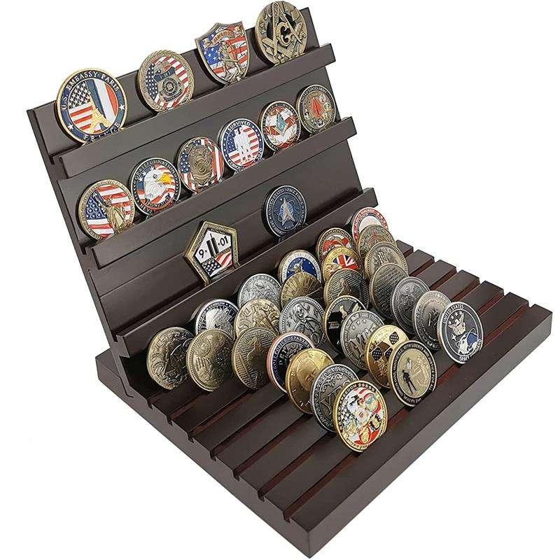 <span class=keywords><strong>Boîte</strong></span> à monnaie commémoratives à motif chat, pièces en métal de sport mignonnes de collection américaine, collection