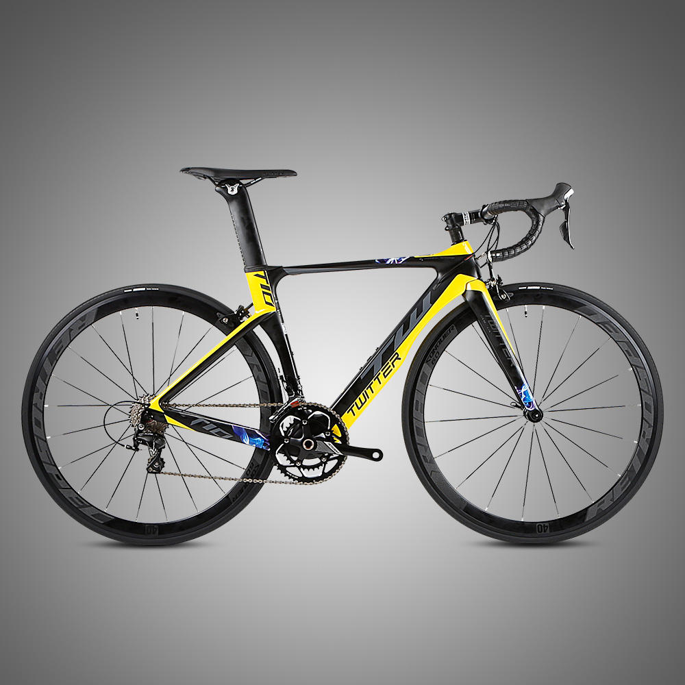 cheap C brake T10 Twitter bike European quality level Chinese supplier complete carbon road bike