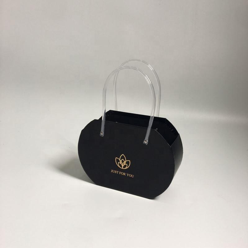 2019 Искусственные цветы букет розы Картон цилиндр цветок конфеты коробка для свадебной вечеринки украшения День Святого Валентина подарок