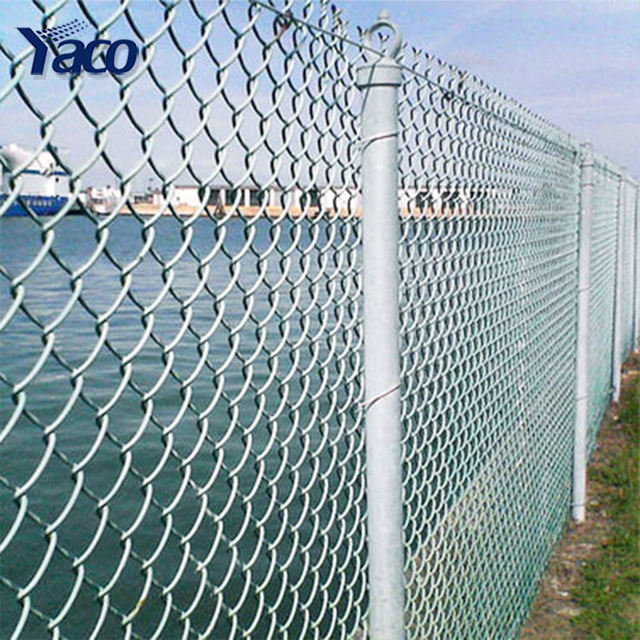 4ft 5ft 6ft walk-through catena link fence <span class=keywords><strong>cancello</strong></span>/filo zincato chain link fence automatico pieno in hyderabad