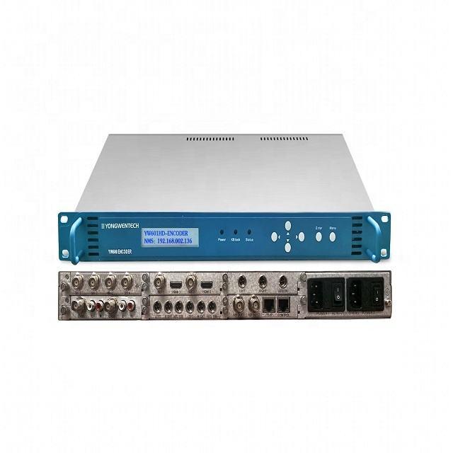 Módulo de codificación YW600 4x3G HD-SDI IRD, receptor de MPEG-2/H.264 HD Encoder