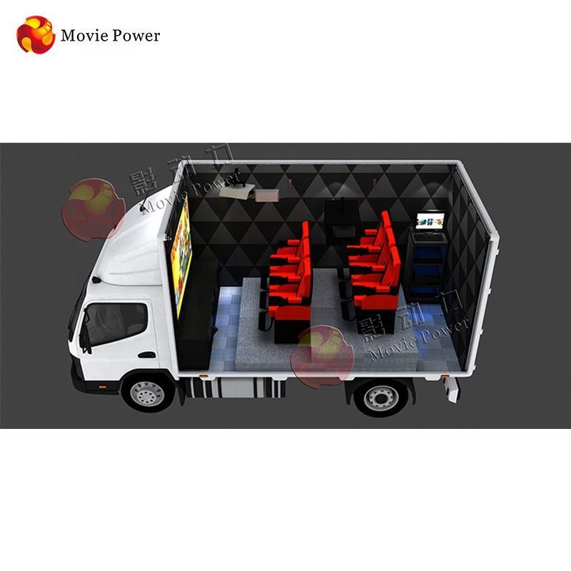 3d 4d 5d 6d 7d 8d 9d 12d xd camión móvil equipos de teatro