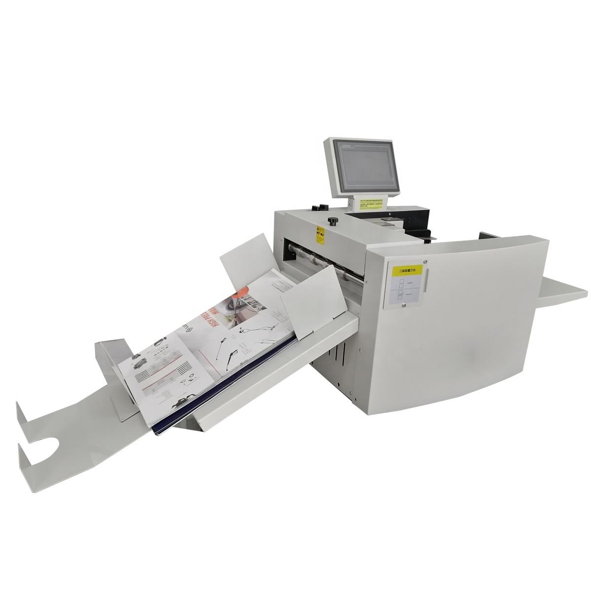 330a paper full Automatic digital paper creasing machine and perforating machine