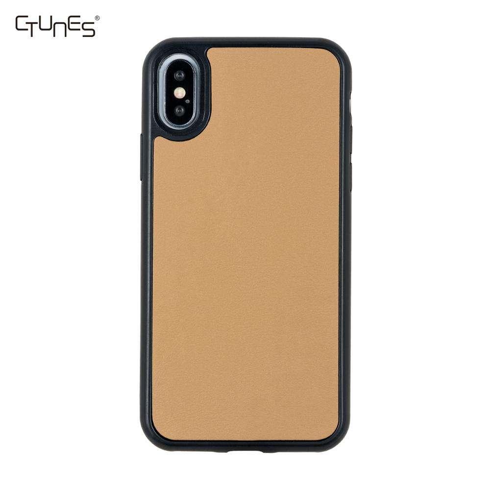 En blanco Natural de Real de madera de la cereza de madera móvil protectora del teléfono celular casos para iPhone Xs X Xr
