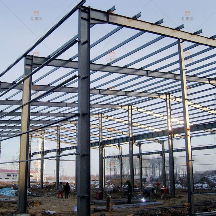 Entrepôt préfabriqué en acier léger <span class=keywords><strong>structure</strong></span> <span class=keywords><strong>atelier</strong></span> bureau de construction