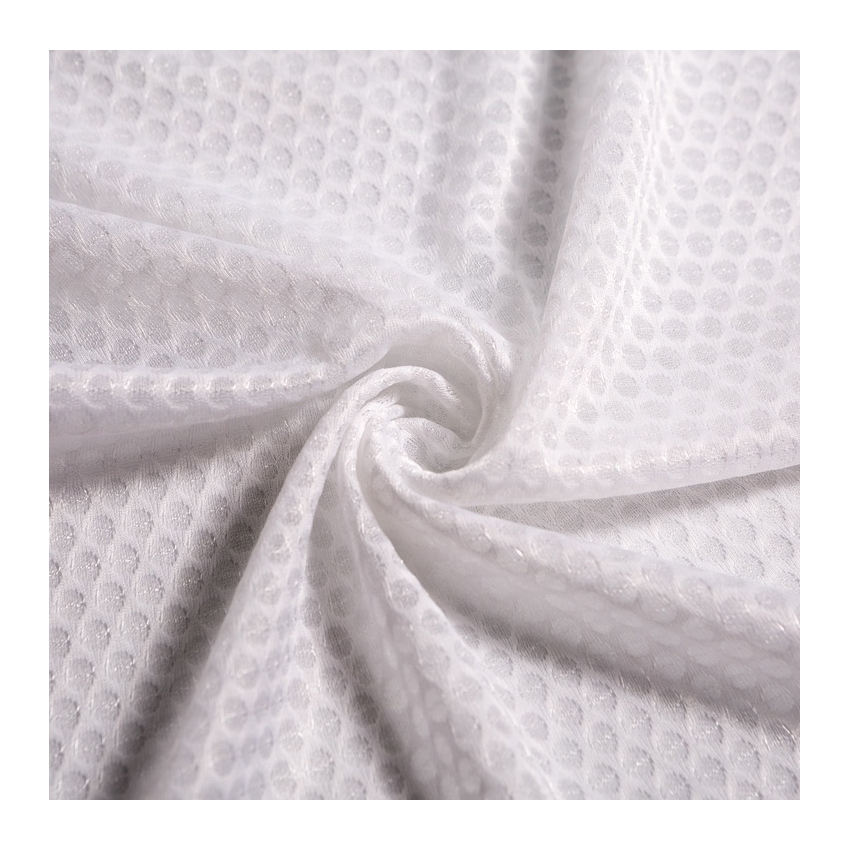 china supplier stretch waterproof breathable fabric dri fit polyester light weight mesh fabric
